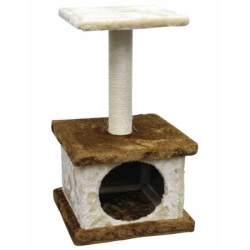 Go Pet Club Homessity 22-inch Lightweight Brown Cat Tree