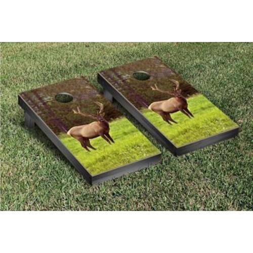 Victory Tailgate Wild Elk Cornhole Bean Bag Toss Game