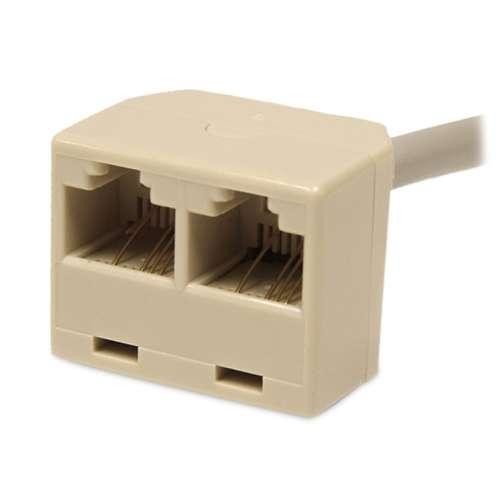 StarTech.com 2-to-1 RJ45 10/100 Mbps Splitter/Combiner - One adapter required at each end of the connection: Computers & Accessories