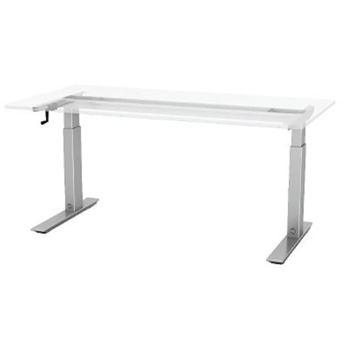 ESI Ergonomic Solutions Q Crank Standing Desk; 45.6'' H x 72'' W x 24'' D