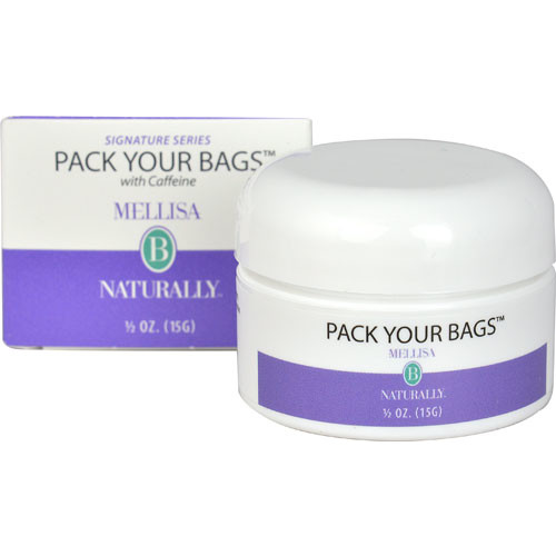 Mellisa B Naturally Pack Your Bags with Caffeine Eye Cream -- 0.05 oz