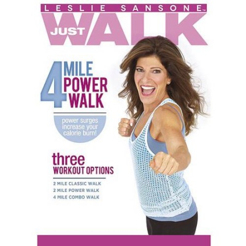 Leslie Sansone: Just Walk - 4 Mile Power Walk [DVD] [2012]