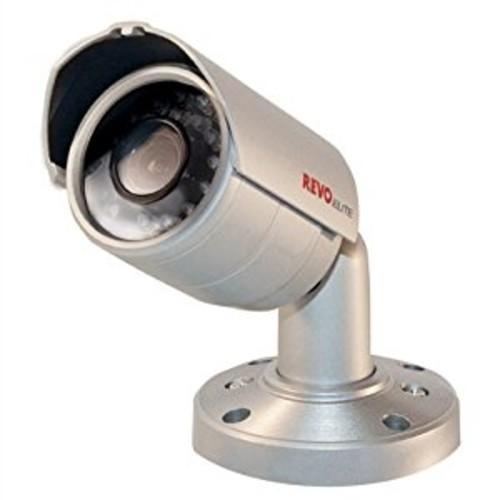 REVO America Indoor/Outdoor Bullet Surveillance Camera - 600 TVL Resolution, Day/Night Mode, 24 IR LED, 3.6mm Fixed Lens [Day/Night Fixed Surveillance, Bullet]