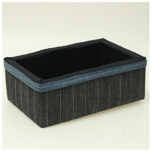 Suzys Denim Medium Storage Box
