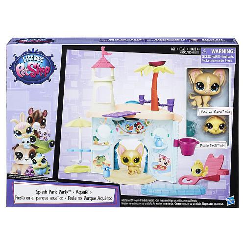 Littlest Pet Shop Splash Park Party Playset