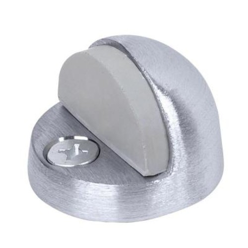 Tell Satin Chrome High Dome Floor Stop