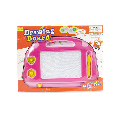 Puzzled Pink and Yellow Drawing Pads (Set of 2)