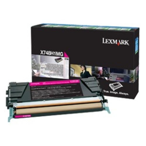 Lexmark Toner Cartridge - Magenta - Lexmark - X748H1MG