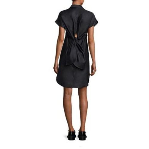 RAG & BONE Ara Tie-Back Shirtdress