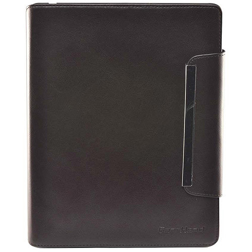 Gear Head LFS4800BRN Carrying Case (Portfolio) for iPad - Brown - Leather