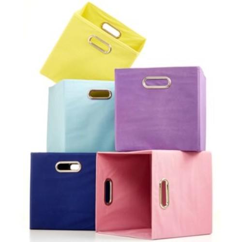 Modern Littles Solids Folding Storage Bin