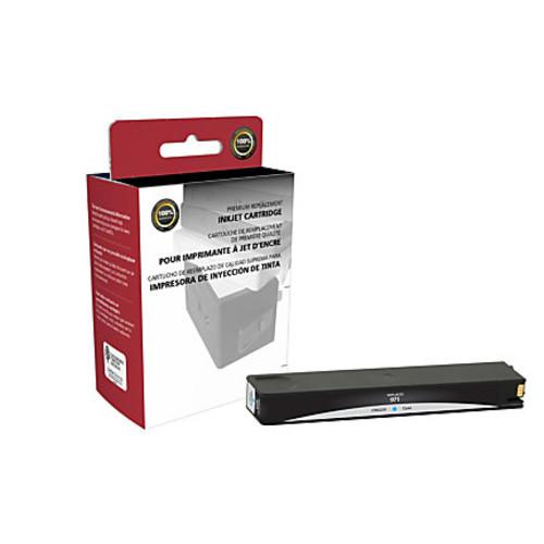 Clover Technologies Group Remanufactured Ink Cartridge, Cyan, 118096 (HP 971 / CN622AM)