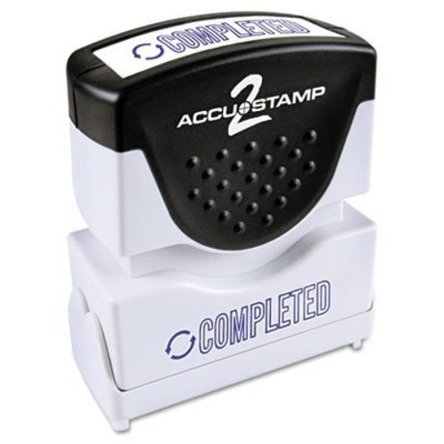 COS035582 - Consolidated Stamp Accustamp2 Shutter Stamp with Microban : Business Stamps : Office Products