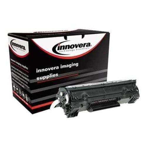 Innovera E278A Remanufactured CE278A (78A) Laser Toner, 2100 Yield, Black