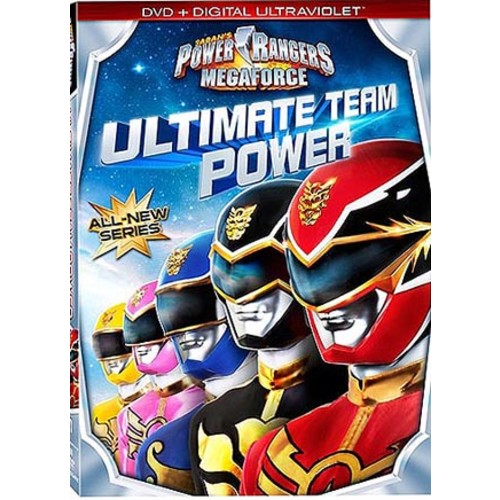 Power Rangers Megaforce: Ultimate Team Power (DVD)