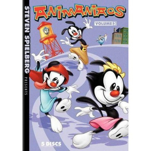 ANIMANIACS - VOLUME 3 (DVD MOVIE)