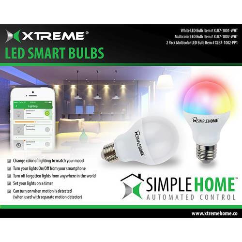 WiFi Multi-Color Smart LED Bulb