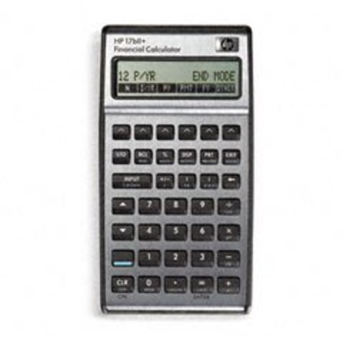 HEW17BIIPLUS - HP 17bII Financial Calculator