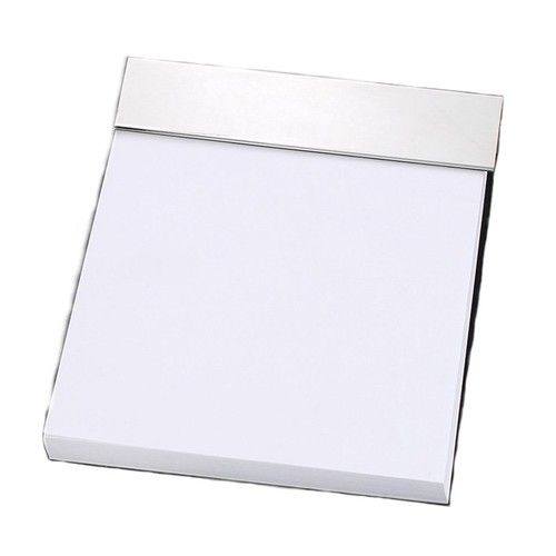 Bey-Berk D145 Silver Plated Memo Pad Holder [Other Colors]