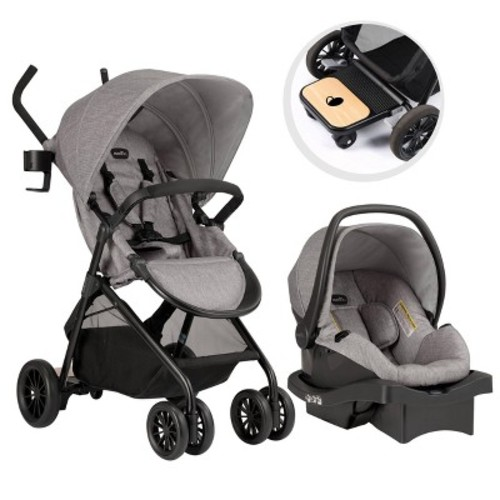 Evenflo Sibby 2.0 Travel System - Gray
