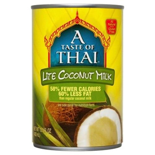 A Taste of Thai Lite Coconut Milk 14 oz