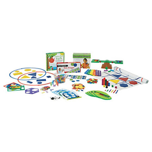 Learning Resources Kindergarten Math Kit - Theme/Subject: Learning - Skill Learning: Mathematics, Geometry, Subtraction, Number, Problem Solving, Addition, Shape, Comparison - 15 Pieces - 5+