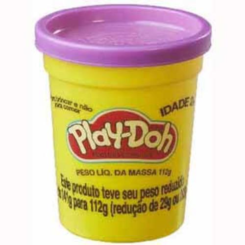 Hasbro Playdoh Assorted Single Can - Bright Green,Purple, Blue, Orange, Bright Blue or Pink