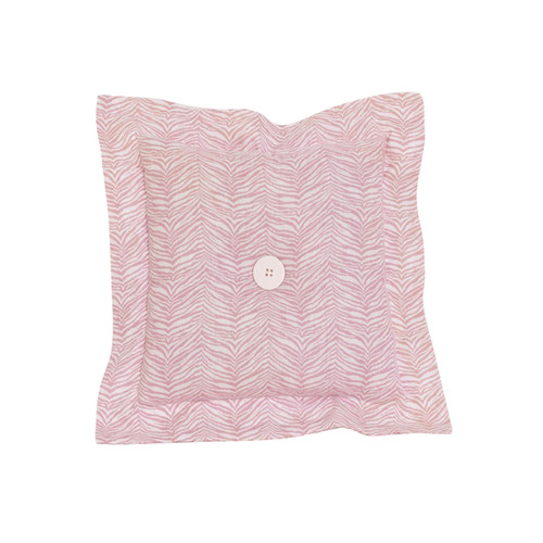 Cotton Tale Baby Pink Cotton Animal Print Throw Pillow