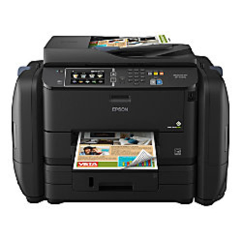 Epson WorkForce Pro WF-R4640 EcoTank Supertank Wireless Color Inkjet All-In-One Printer, Scanner, Copier And Fax