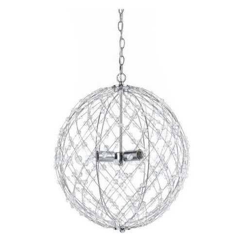 AF Lighting Silver Web 8285-3H Pendant