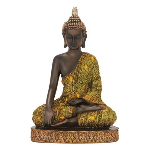 Studio 350 Accent Pieces Resin Buddha Figurine
