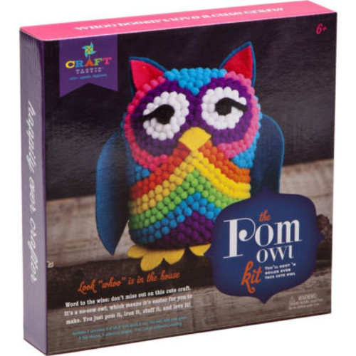 Craft-tastic Pom Owl Kit