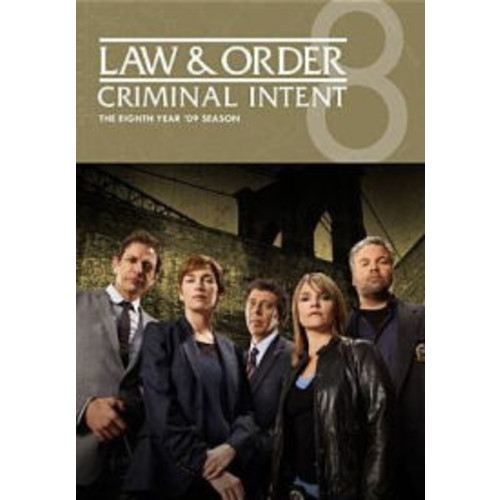 Law & Order: Criminal Intent - The Eighth Year [4 Discs]