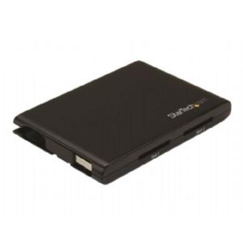 StarTech.com Dual-Slot SD Card Reader/Writer - USB 3.0 - SD 4.0, UHS II - Card reader (MMC, SD, SDHC, SDXC) - USB 3.0