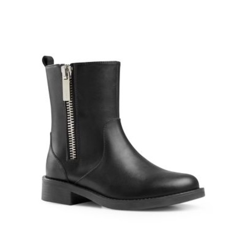 GUCCI Kid'S Leather Zipper Boots