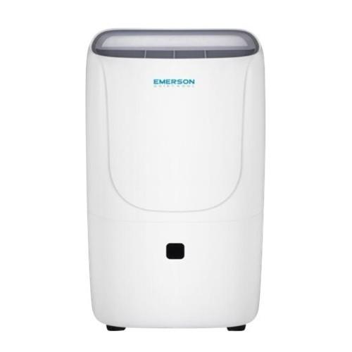 Emerson Quiet Kool - 30-Pint Portable Dehumidifier - White