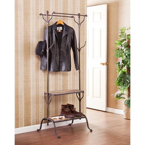 Upton Home Ashbury Entryway Shelf/ Hall Coat Rack Tree