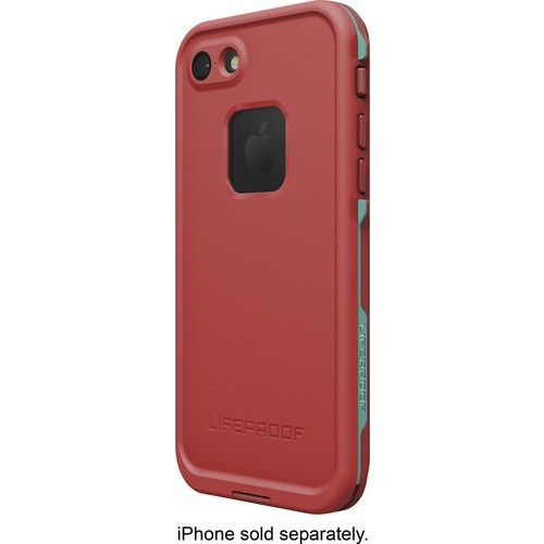 LifeProof - Fre Protective Waterproof Case for Apple iPhone 7 - Ember red