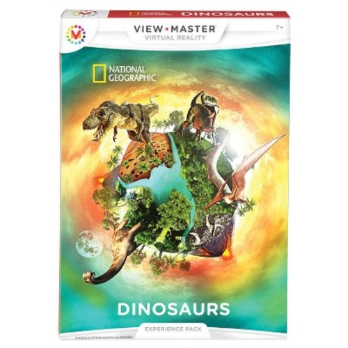 View-Master Virtual Reality National Geographic Dinosaurs Experience Pack