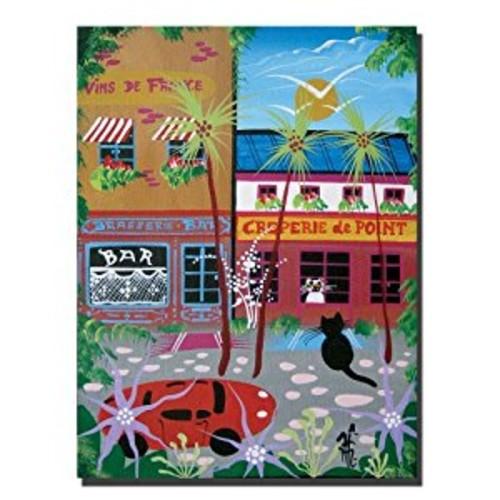 Vins du France by Herbert Hofer, 18x24-Inch Canvas Wall Art [18 by 24-Inch]