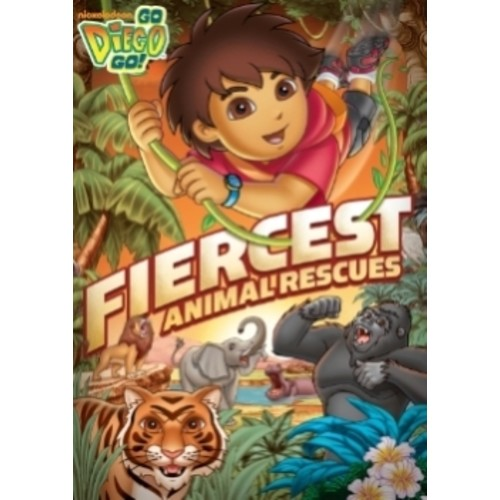 Go Diego Go!: Fiercest Animal Rescues! [DVD]