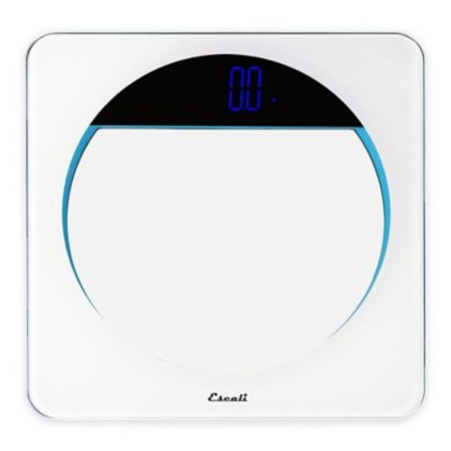 Lunar Digital Bath Scale in White