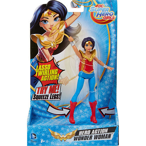 DC Super Hero Girls Hero Action Doll - Wonder Woman