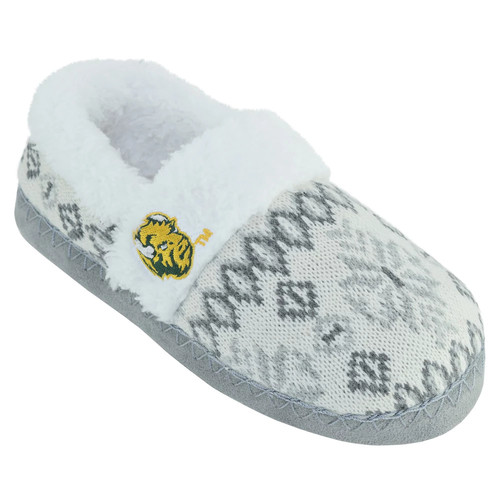 Women's North Dakota State Bison Snowflake Slippers