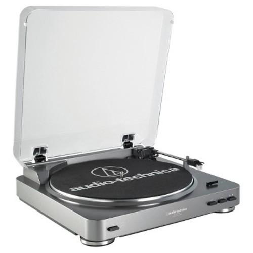 Audio Technica ATLP60USB LP to USB Digital Belt Drive Turntable - Silver