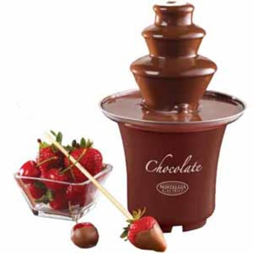 Nostalgia Chocolate Fondue Fountain