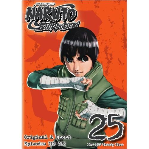Naruto: Shippuden - Box Set 25 [2 Discs] [DVD]