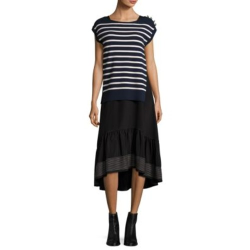 3.1 PHILLIP LIM Sailor Layered Hi-Lo Dress