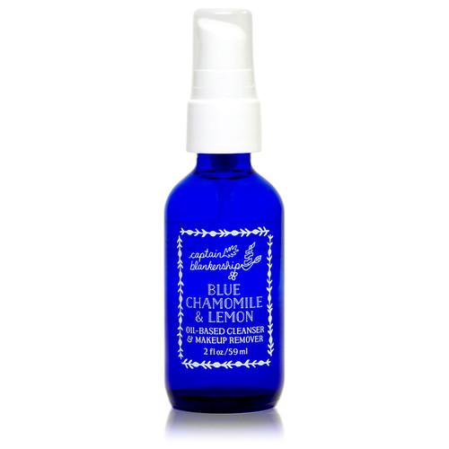 Blue Chamomile & Lemon Oil Based Cleanser & Makeup Remover (2 fl oz.)