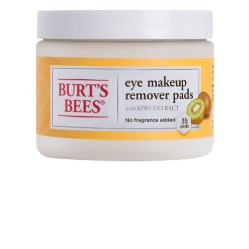 Burt's Bees Eye Make Up Remover Pads - 35 Count